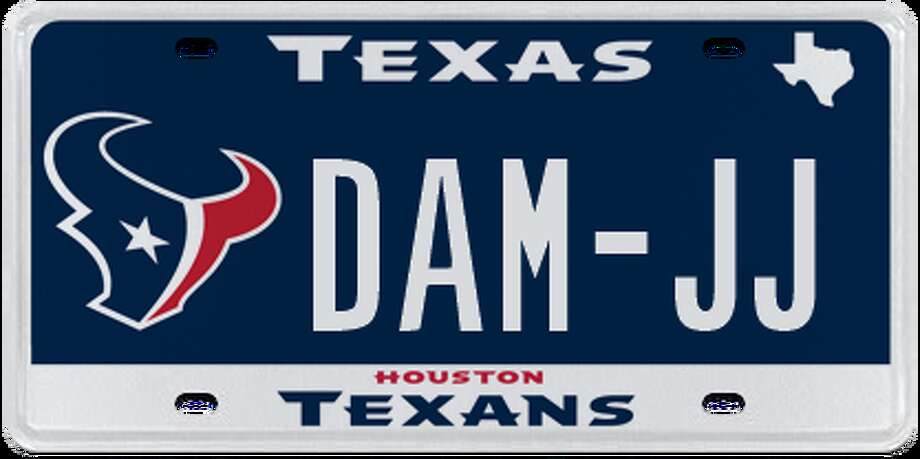 License Plates Rejected By The Texas Dmv Since July 2016
