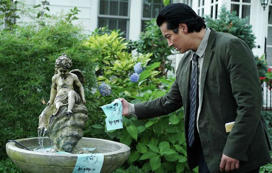 A policeman named Taka (Will Yun Lee) is investigating a group suicide by members of what appears to be a cult. He may be experiencing a shared dream. Photo: USA Network / Nicole Rivelli / USA Network / 2015 USA Network Media, LLC