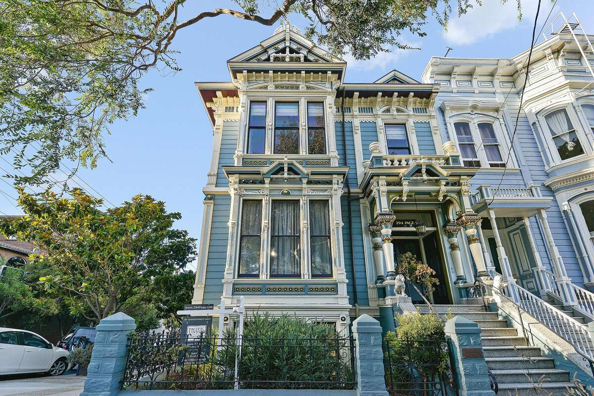 294 Page St., also known as the Dietle House, is a four-bedroom Victorian available in Hayes Valley.�