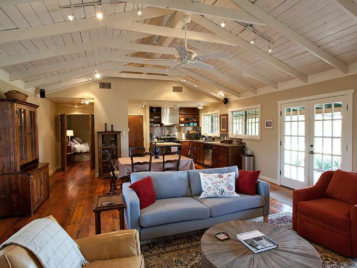 1.The cabins at Double Dam Ranch in Dripping Springs Avg. nightly rate: $167Sleeps: 6