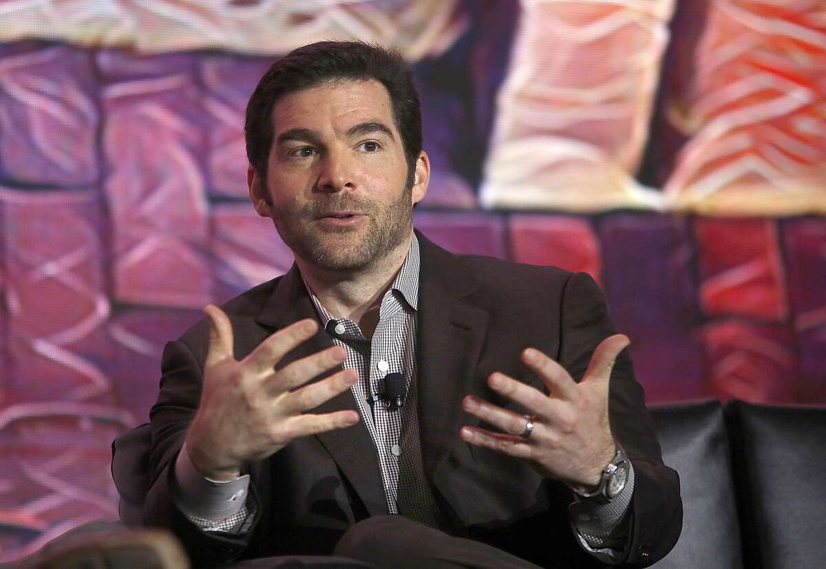 CEO Jeff Weiner of LinkedIn speaks at the 'Next: Economy' conference on Monday, October 19, 2016, in San Francisco, Calif.