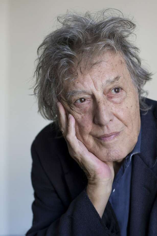 "Tom Stoppard, pictured at the American Conservatory Theater on Sunday, Oct. 9, 2016 in San Francisco, California. Stoppard's new play ""The Hard Problem"" makes its American premiere at A.C.T., later this month. Photo: Santiago Mejia, Special To The Chronicle"