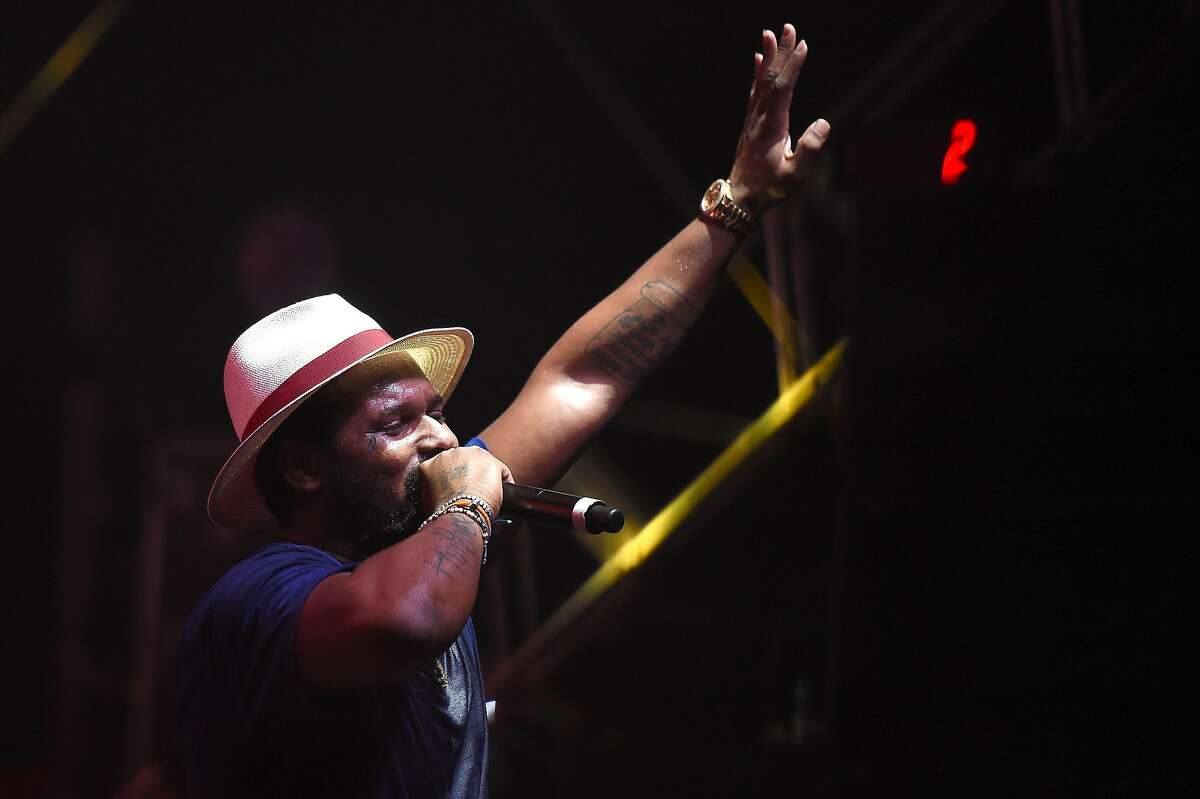 NEW YORK, NY - JULY 22: Schoolboy Q performs onstage at the 2016 Panorama NYC Festival - Day 1 at Randall's Island on July 22, 2016 in New York City. (Photo by Nicholas Hunt/Getty Images)