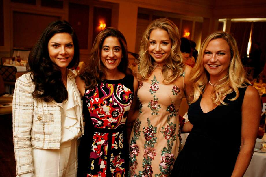 Monica Hartland, Kristina Somerville, Bria Wall, and Amy Haymond Photo: John R. Lewis