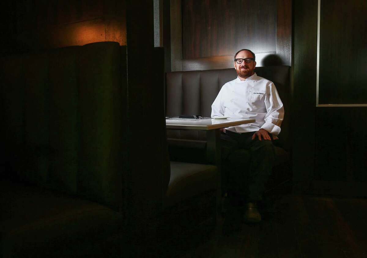 Chef Jon Buchanan poses for a portrait at Third Coast, the new restaurant (formerly Trevisio) on the Texas Medical Center Campus. The restaurant, which was closed for six month for renovation and rebranding, now serves