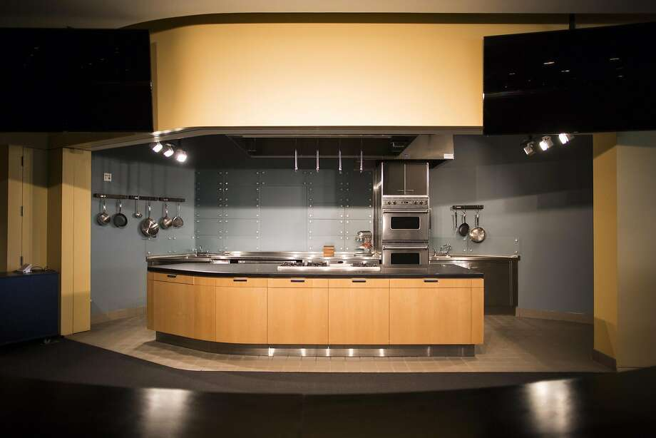 A classroom kitchen in the new Culinary Institute of America campus at Copia in Napa. Photo: Talia Herman