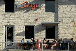 Guest dine on the patio at Snooze on Montrose Friday Oct. 07, 2016. (Dave Rossman Photo)
