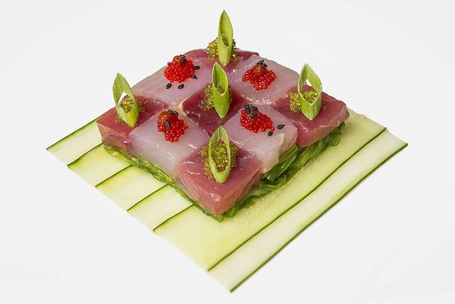 Red Salt sashimi by Noelani Planas. Photo: Pono Photo