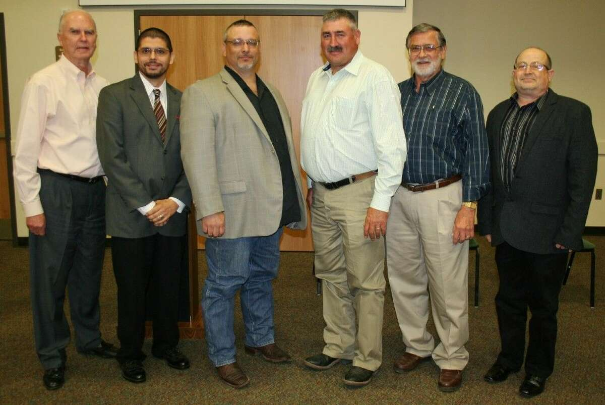 Candidates for Dayton council and mayor attended a forum April 13, 2015, at the Dayton Community Center. Pictured left to right are Republican Party Chairman Ken Coleman, Art Sisneros, Jeff Lambright, Troy Barton, Steve Stephens and Jeff LeBlanc. Click through the gallery for more insight on the mystifying Electoral College.