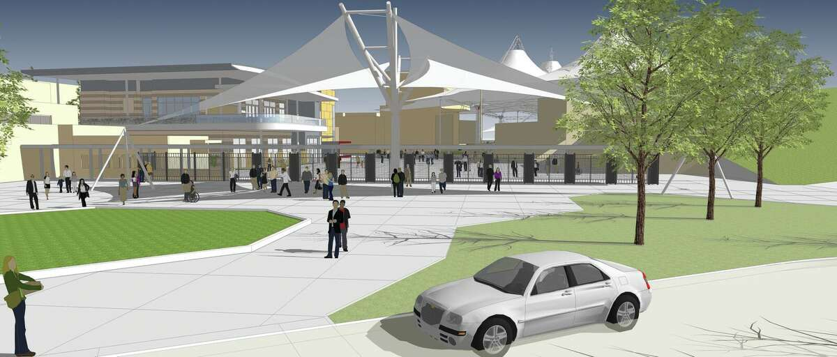 Artist rendering of the planned renovations at Cynthia Woods Mitchell Pavilion