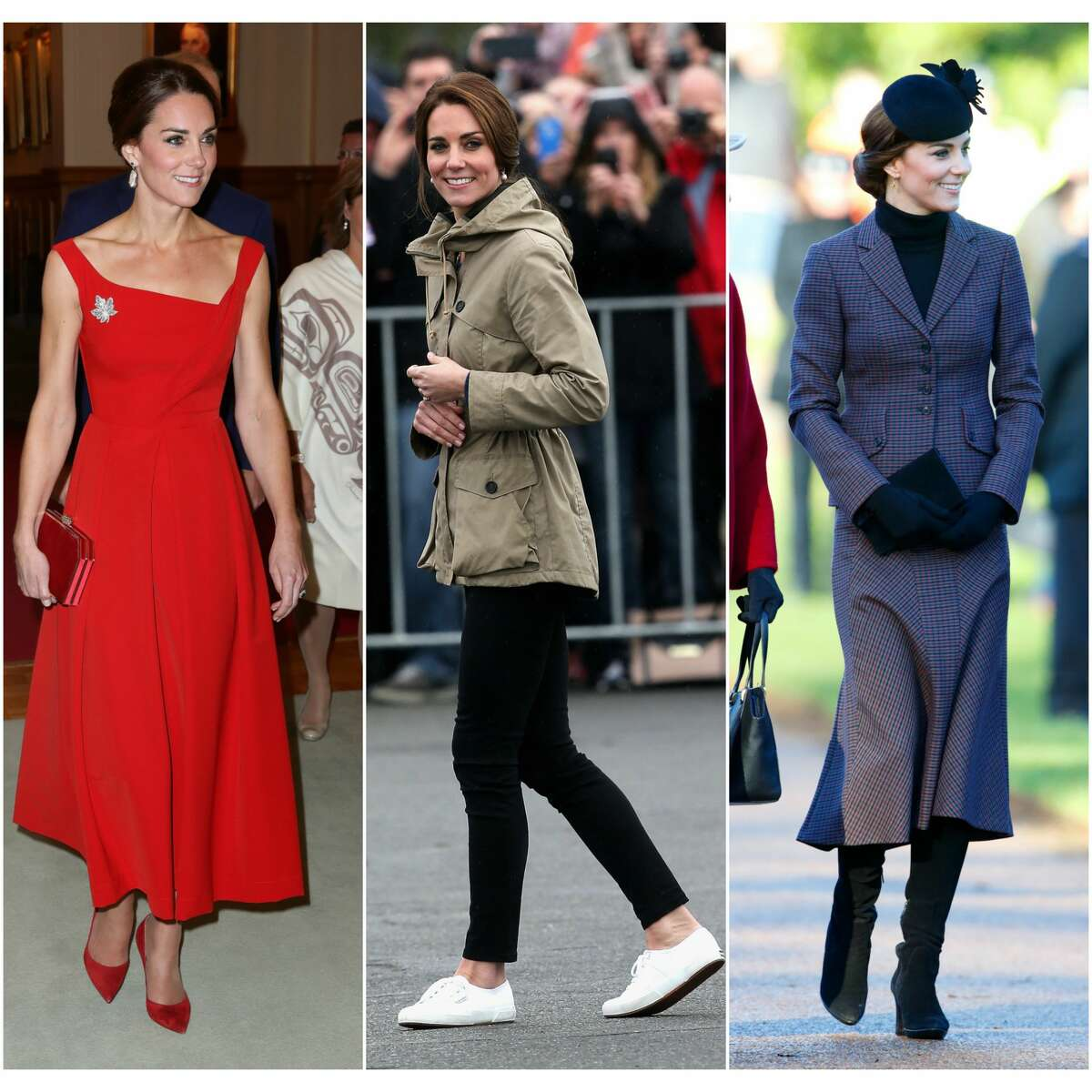 >> Keep clicking to see more of the Duchess of Cambridge's best 2016 fashion moments.