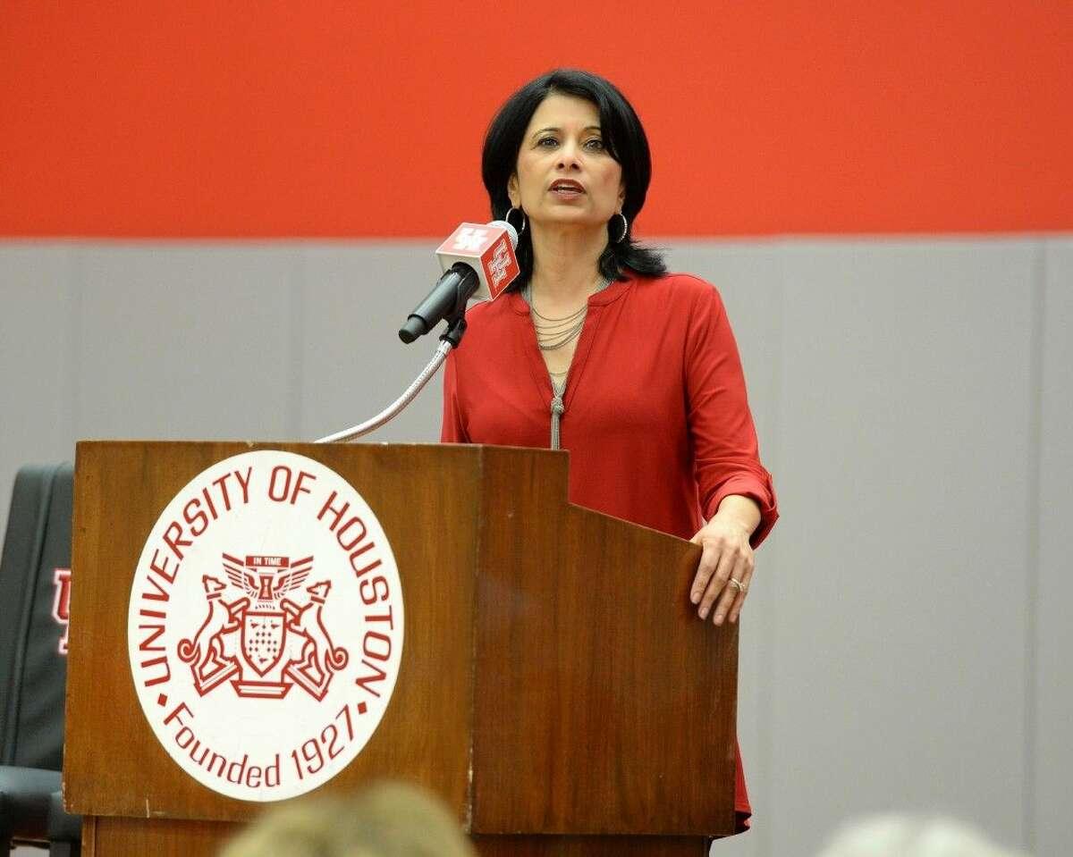 University of Houston President Renu Khator.