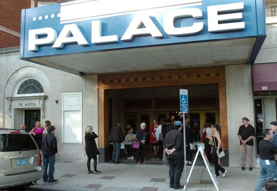 The crowd starts to gather for opening night of the Connecticut Film Festival at the Palace Theater in Danbury Tuesday, May 4, 2010. Photo: Chris Ware / The News-Times