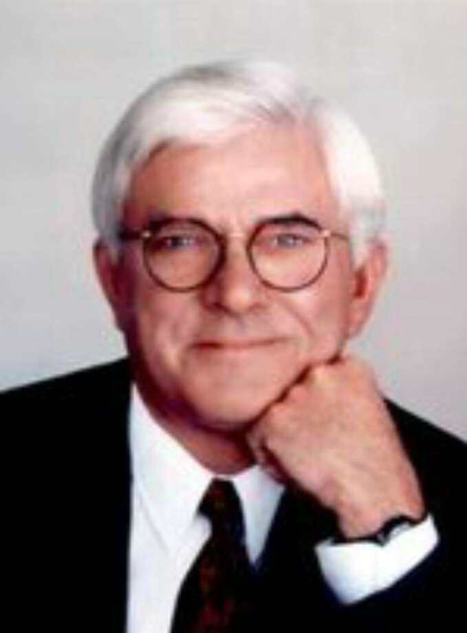 Phil Donahue Photo: Contributed Photo / Westport News
