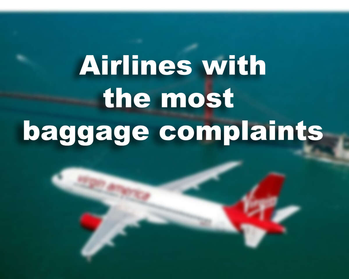 Airlines with the most baggage complaints