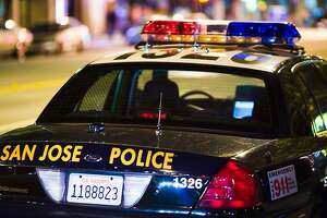 San Jose police officers shot and wounded a man Thursday after going to a mobile-home park to conduct a welfare check.