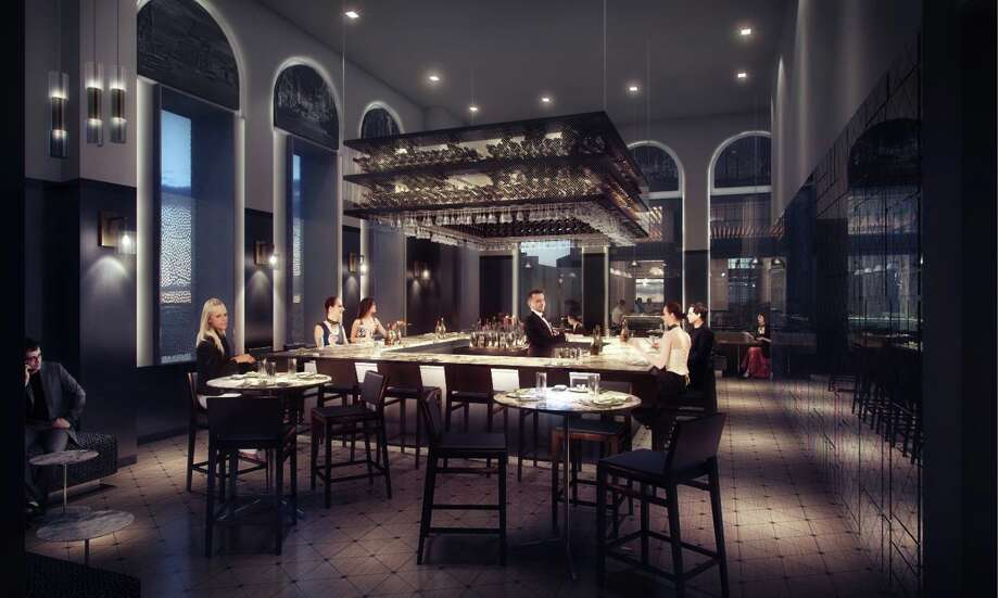Renderings Of The Interior Osso Restaurant Being Planned For 500 Crawford In Downtown Houston
