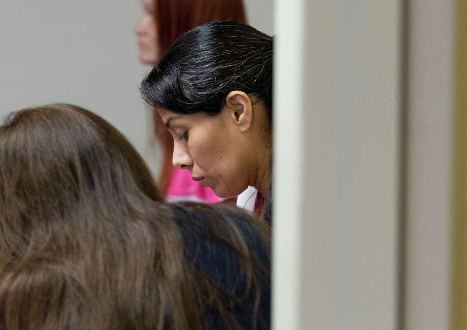 Maria Sosa, former co-owner of Woodlands Boxing & Fitness, is seen during a court appearance in the 359th state District Court of Judge Kathleen Hamilton Tuesday, Oct. 11, 2016, in the Lee G. Alworth building in Conroe. Sosa pleaded guilty to solicitation of her husband's murder and received 20 years in prison. Photo: Jason Fochtman, Houston Chronicle / Houston Chronicle