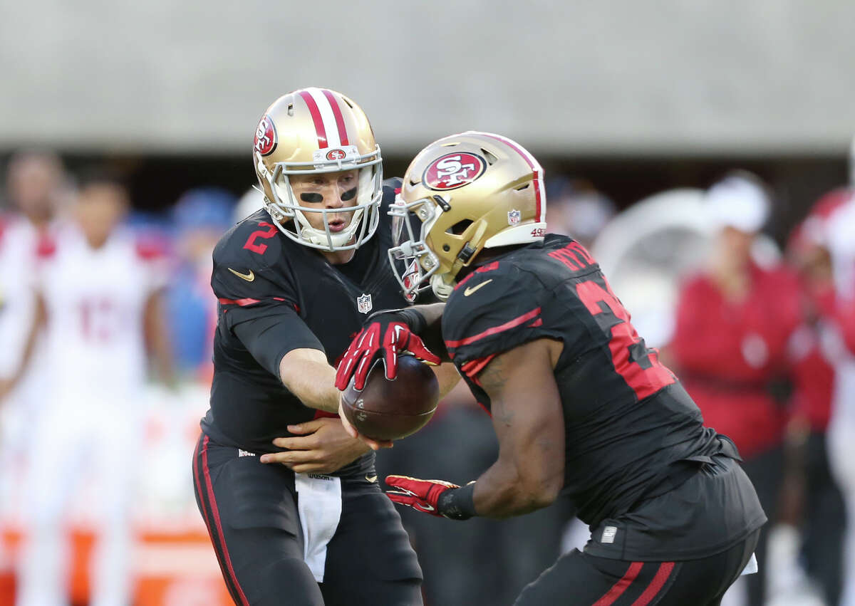 31. San Francisco 1-4 | Last week: 31 Chip Kelly has a four-game losing streak and a quarterback controversy, although Chip Kelly announced Tuesday that Colin Kaepernick would be his starter this week.