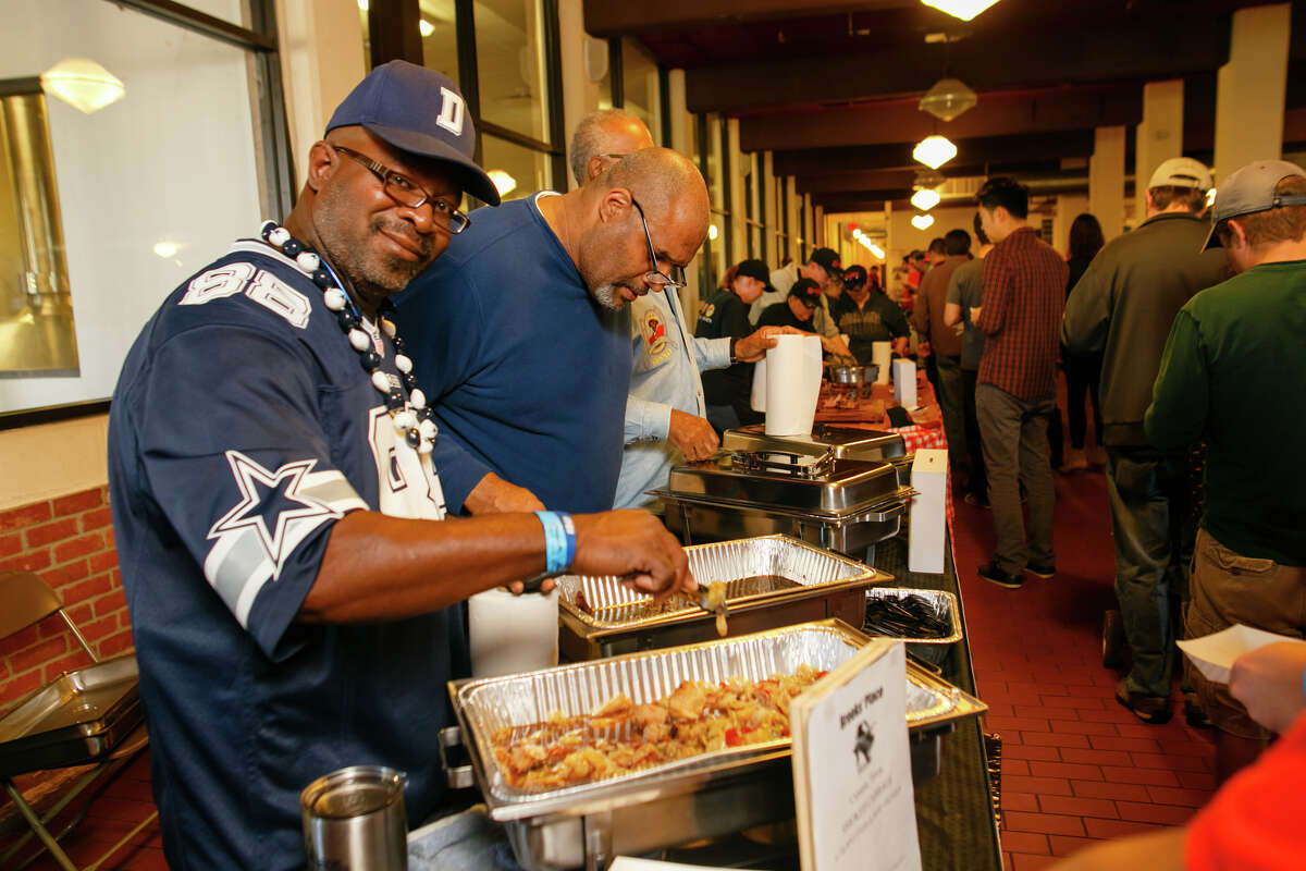 The 2nd Annual Houston BBQ Throwdown will be held on Nov. 20, 2016 at Saint Arnold Brewing Company. Shown: Scenes from 2015 throwdown (judge's winner Trent Brooks).