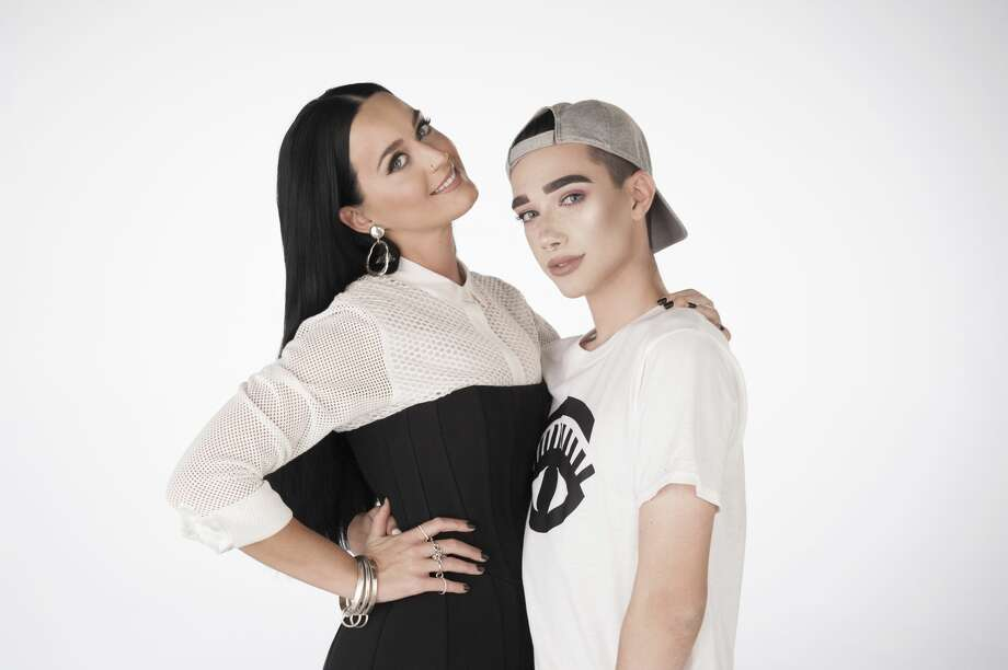 CoverGirl Katy Perry and James Charles Photo: LACEY TERRELL / CoverGirl
