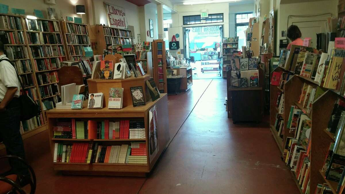 Modern Times Bookstore Collective opened in 1971.