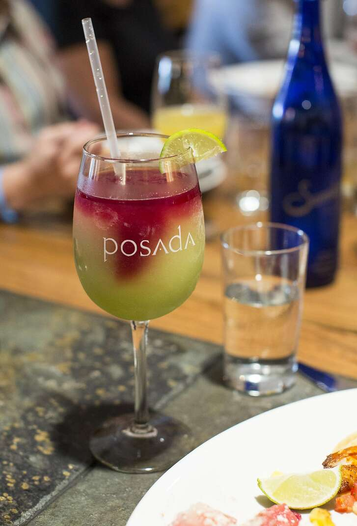 A sangarita drink is seen on a table during brunch at Posada Contemporary Southwestern in Livermore, Calif., on Sunday, October 2, 2016.