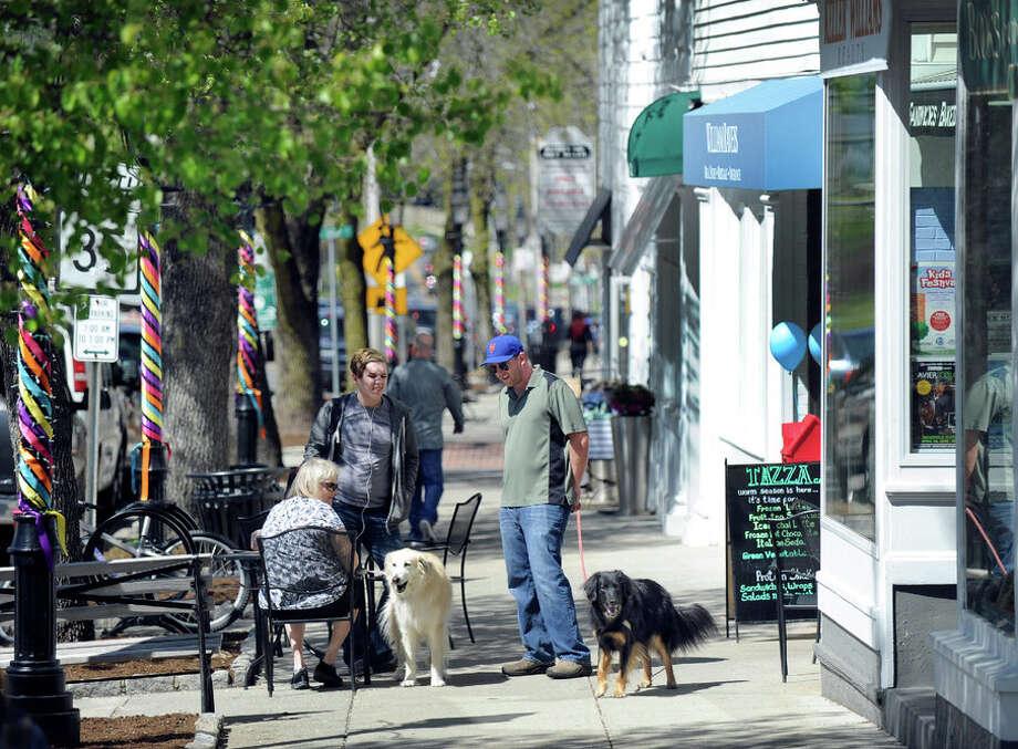 Downtown Ridgefield. Photo: / Carol Kaliff