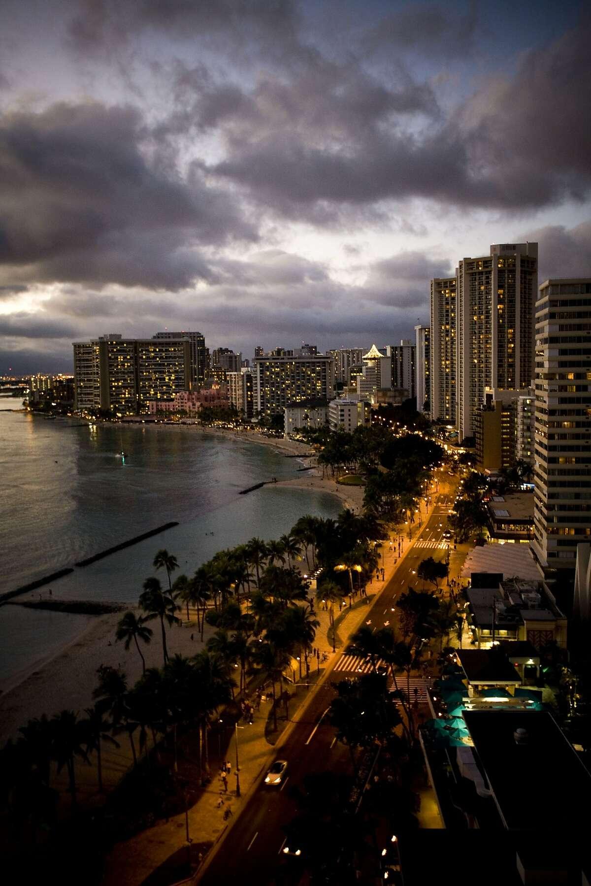 Waikiki Island Style - Opulence San Francisco Chronicle