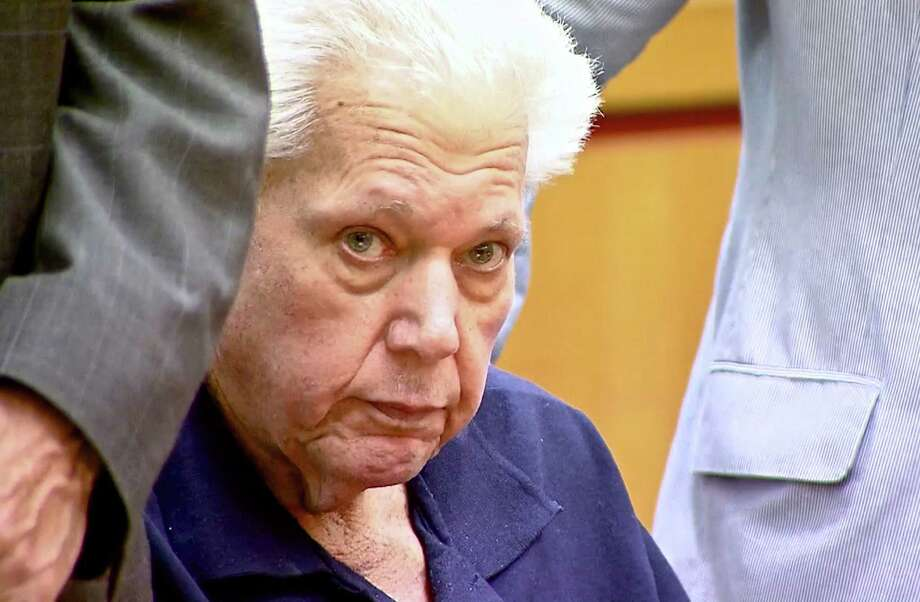 Robert Stackowitz appears in state Superior Court in Danbury in August in Danbury. Screen capture from video courtesy of News 12. Photo: Contributed File Photo / The News-Times Contributed