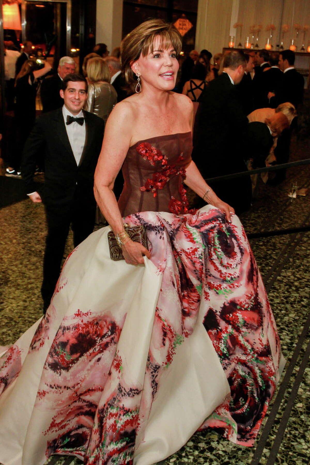 Hallie Vanderhider at the MFAH Grand Gala Ball.