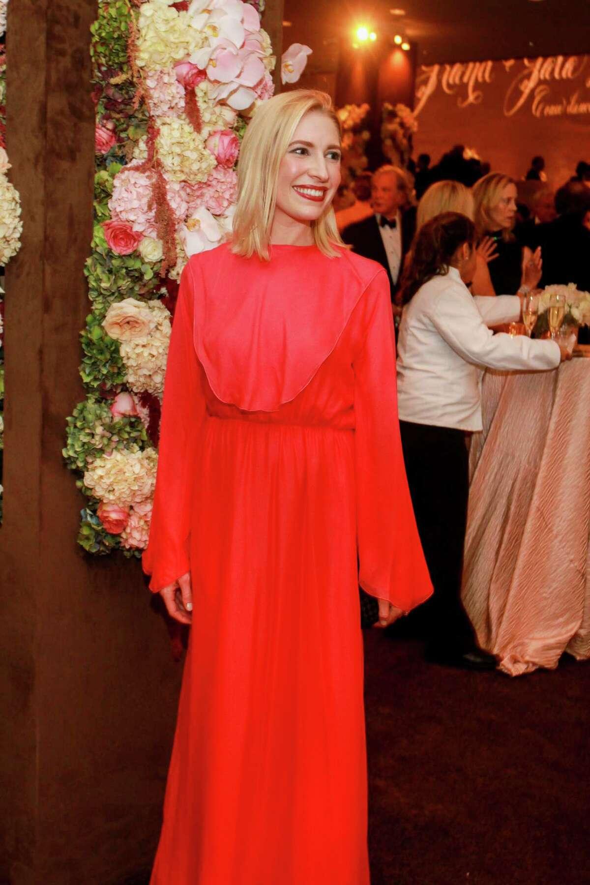 Isabel David at the MFAH Grand Gala Ball.