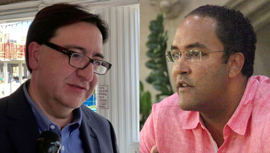 The battle between Pete Gallego (left) and Will Hurd is Texas' only competitive congressional race.