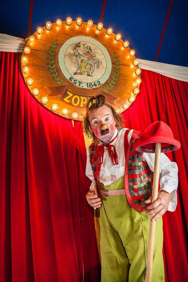 "Clowns in Zoppé's new show, ""Ricominciare."" Photo: Joel Wade Photography, Courtesy Zoppe Family Circus"