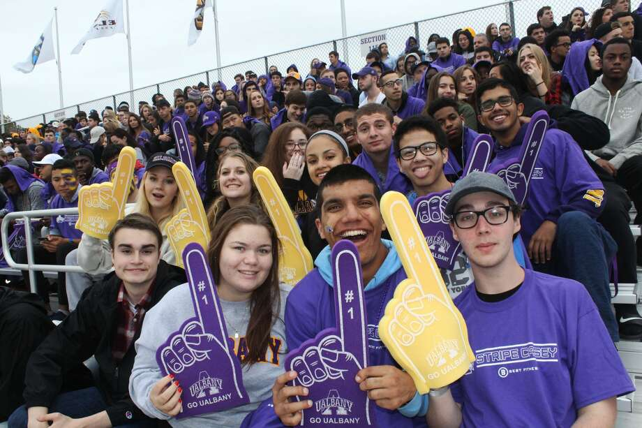 Were you Seen at the UAlbany Football Homecoming Weekend game against the University of Richmond on Saturday, Oct. 8, 2016? Photo: Hannah Brigida Infantado