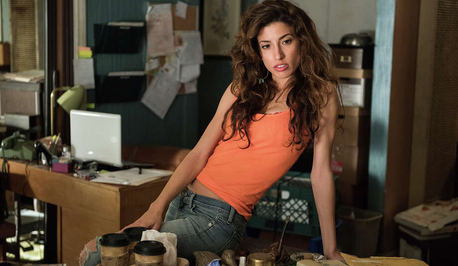 "Tania Raymonde as legal secretary/prostitute Brittany Gold in ""Goliath."" Photo: Colleen E. Hayes / Colleen E. Hayes / Amazon Studios"