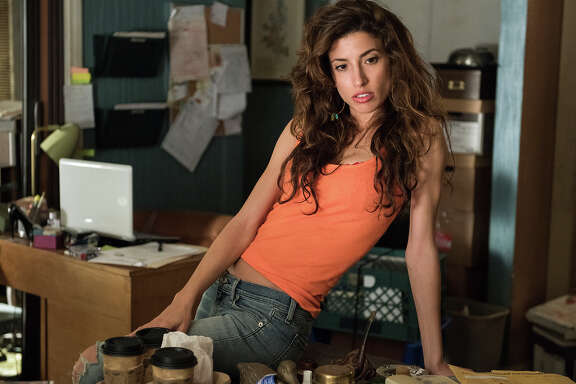 "Tania Raymonde as legal secretary/prostitute Brittany Gold in ""Goliath."""