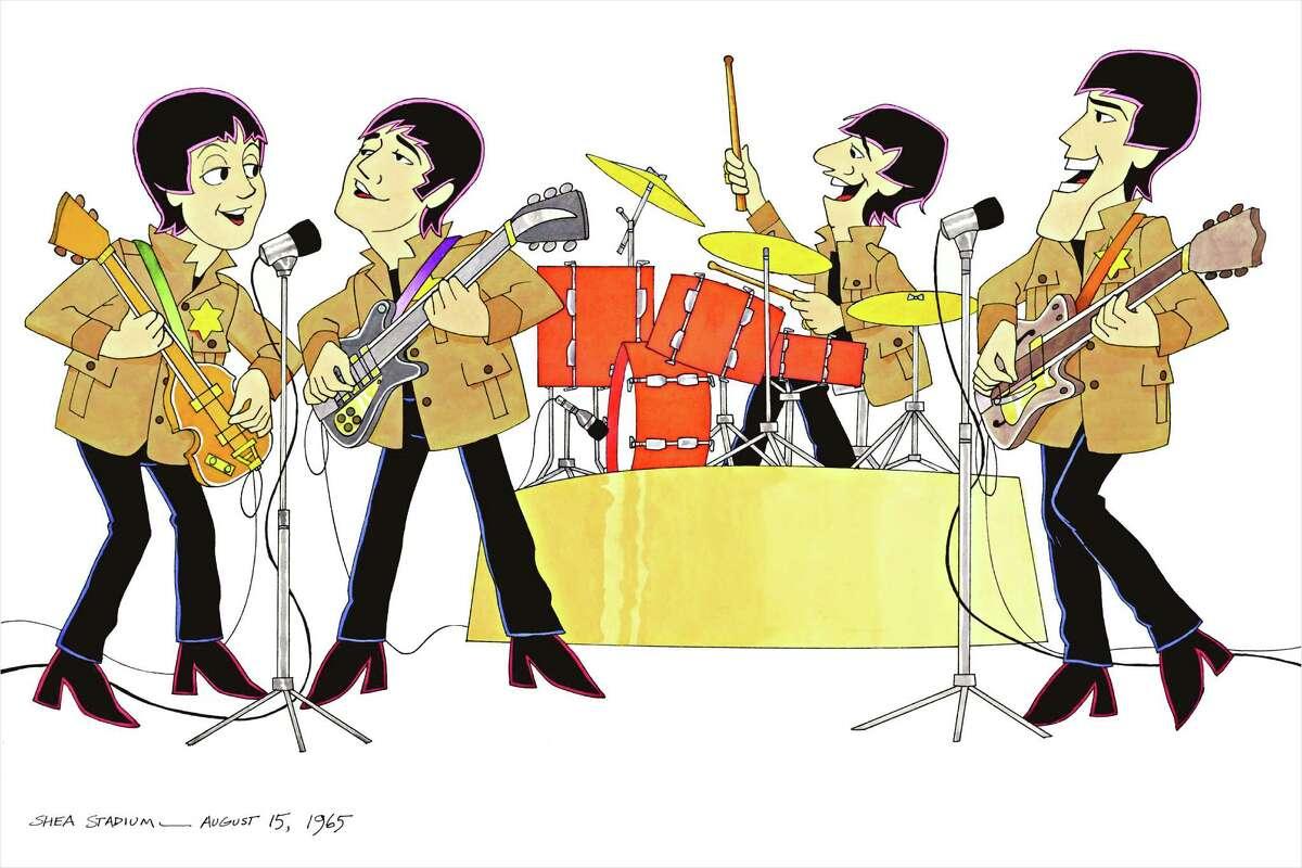 """Beatles Shea Staduim"" credit: Ron Campbell"