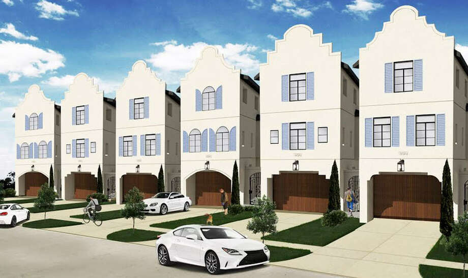 Titan Homes' upcoming community, Rio Vista North, in Shady Acres will include 18 townhouses. Photo: Titan Homes