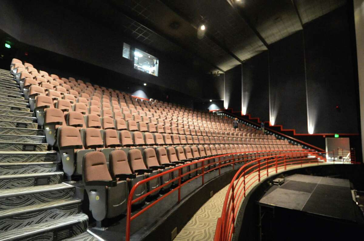 The 300 seat IMAX theater at the Maritime Aquarium on Monday August 29, 2016 in Norwalk Conn.