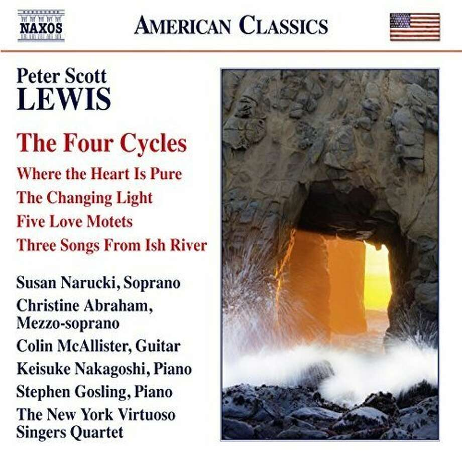 "Peter Scott Lewis, ""The Four Cycles"" Photo: Naxos"