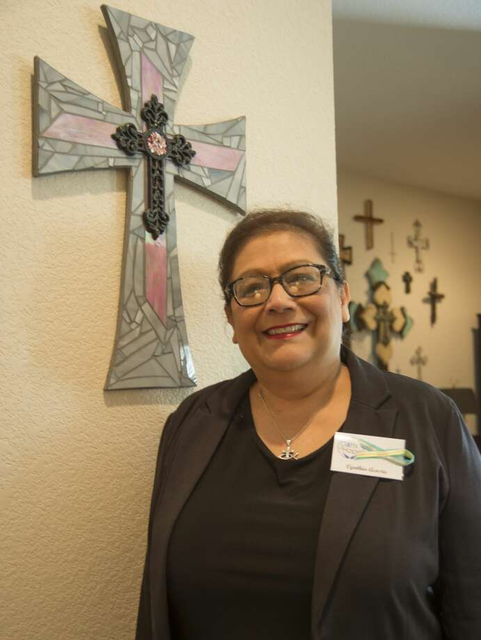 Cynthia Acosta, volunteer at Gifts of Hope and cancer patient. Photo: Tim Fischer/Midland Reporter-Telegram