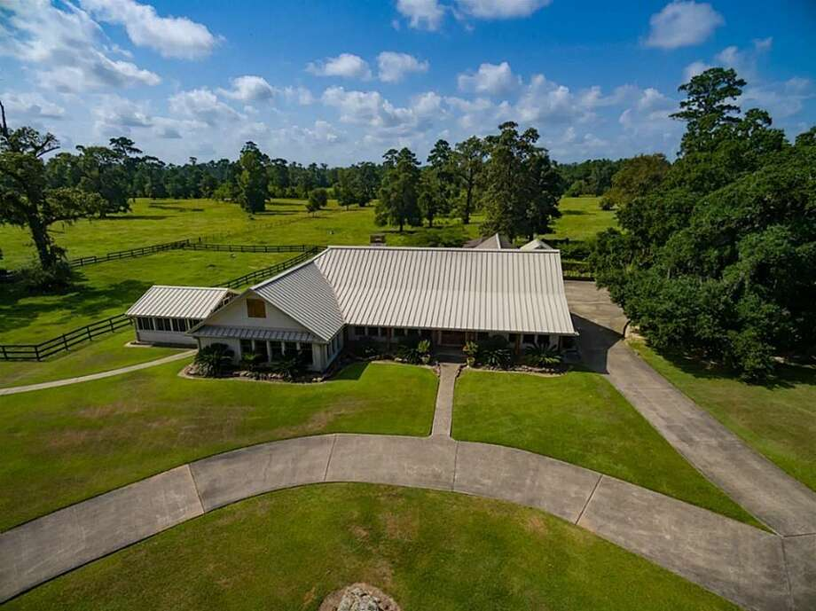 Four Oaks Ranch, located about nine miles north of Vidor, hit the market in August 2016 and is listed at $3.4 million. The ranch was originally owned by George Pattillo, a representative and senator for the Republic of Texas and one of the first elected judges in Orange County.  Photo: Realtor.com
