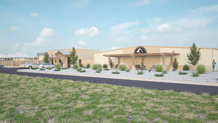 Midland Humane Coalition kennell renderings Photo: Courtesy Photo