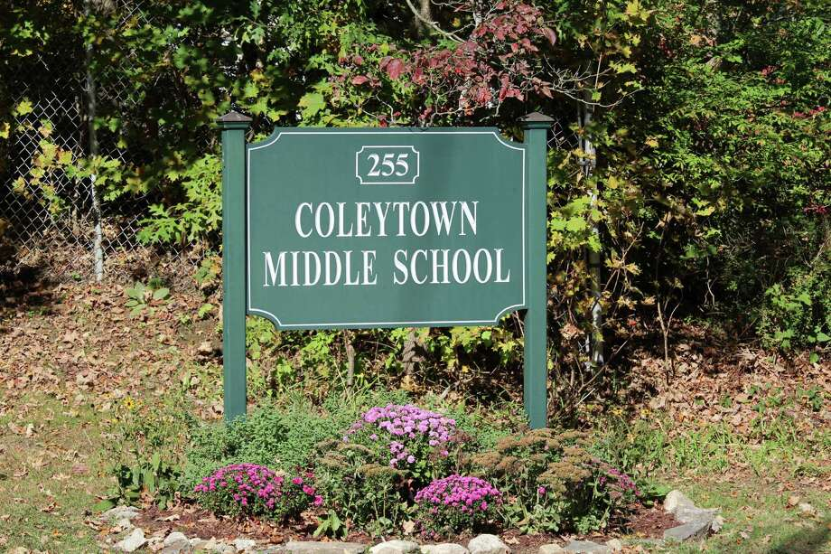 Mold was discovered and remediated at five classrooms at Coleytown Middle School . Photo: Chris Marquette / Hearst Connecticut Media / Westport News