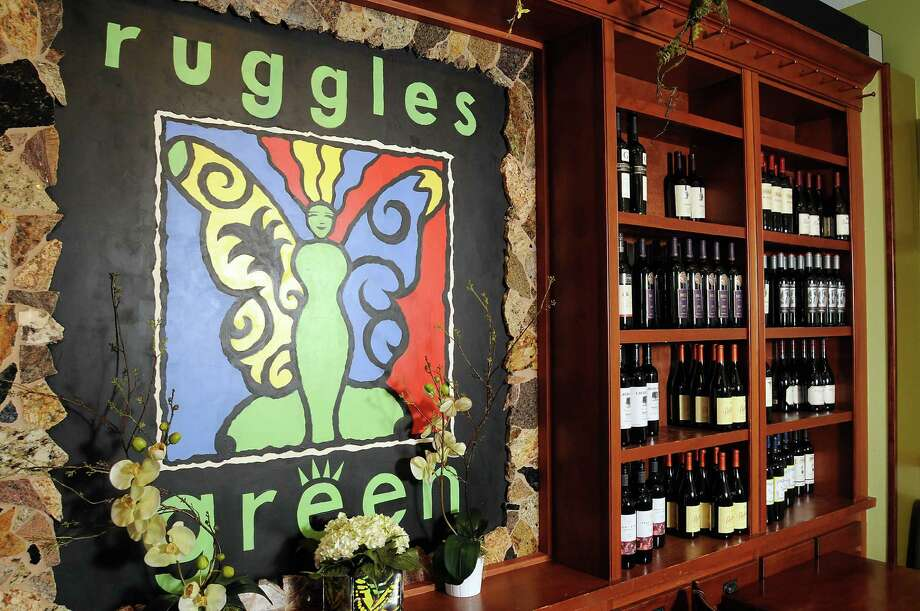 The wine wall at Ruggles Green at 2311 W. Alabama  Saturday Sept. 03,2011.(Dave Rossman/For the Chronicle) Photo: Dave Rossman, Freelance / © 2011 Dave Rossman