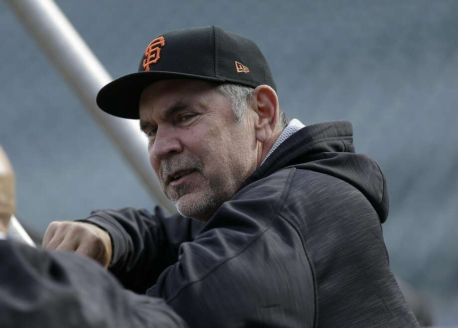 Giants manager Bruce Bochy before Tuesday's final loss to the Cubs. Photo: Ben Margot, Associated Press
