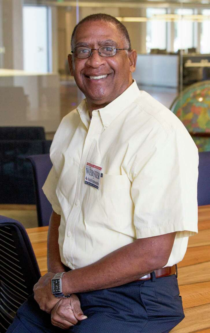 Cecil Webster is a candidate for theTexas House of Representatives, District 13. (Photo: JeremyCarter/ Houston Chronicle)