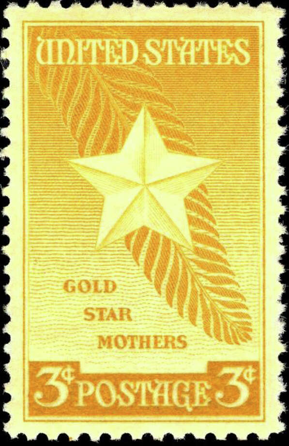 The 1948 stamp honoring Gold Star mothers. Photo: Contributed Photo / Greenwich Time Contributed