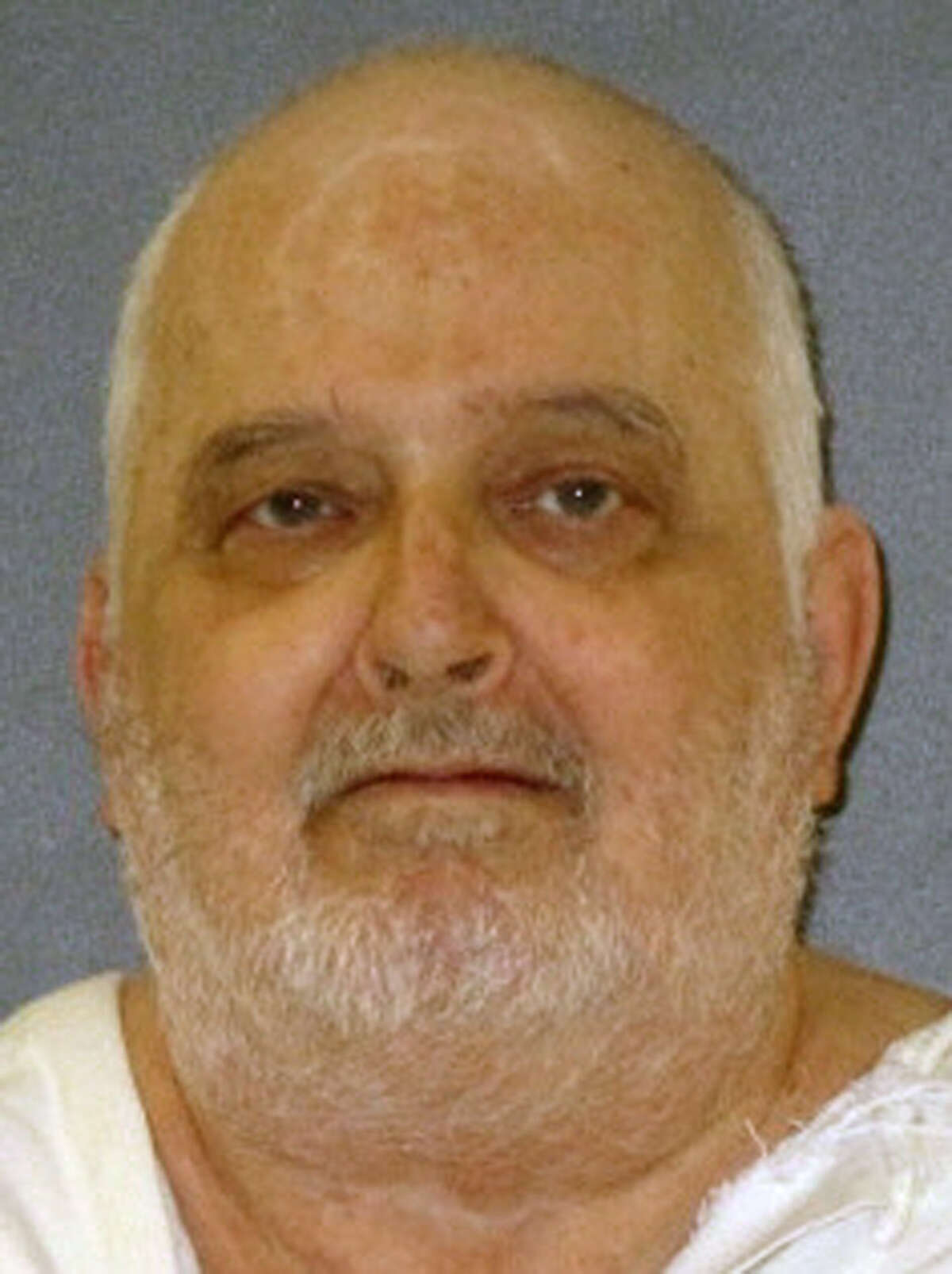 This undated photo provided by the Texas Department of Criminal Justice shows death row inmate Danny Bible. The U.S. Supreme Court has refused an appeal from Bible on death row for the 1979 slaying of a woman who went to his house in Houston to use a telephone and was found later stabbed 11 times with an ice pick, raped and dumped on the bank of a bayou. The high court, without comment Tuesday, Oct. 11, 2016, rejected the appeal of 65-year-old Bible. (Texas Department of Criminal Justice via AP)